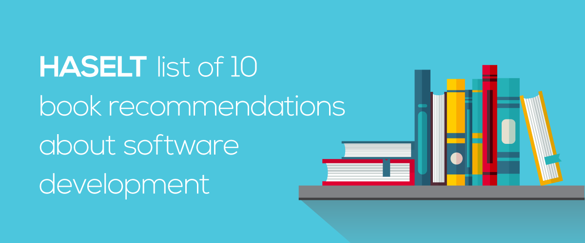 HASELT list of 10 book recommendations about software development