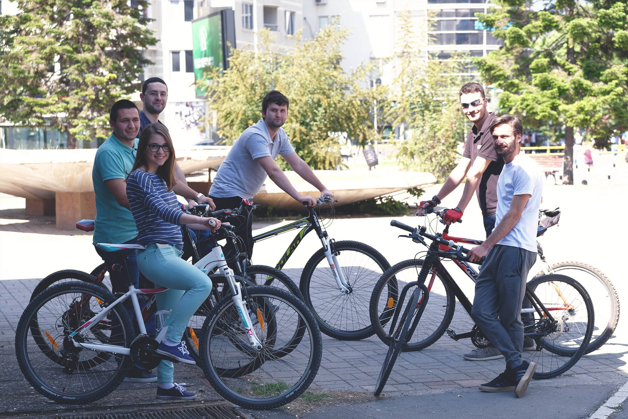 HASELT Team Celebrates Bike To Work Day