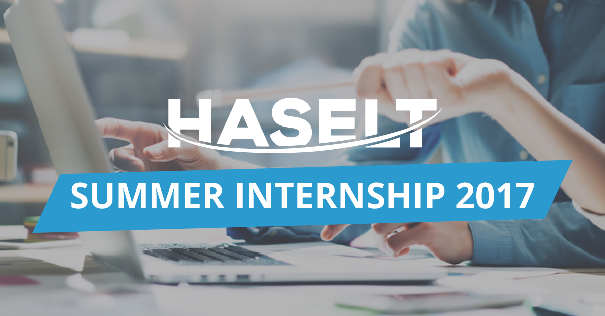 Join HASELT Summer Internship 2017